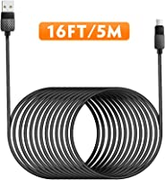 USB Type C Cable 5M/16FT Fast Charging USB C Cable Long USB C to USB A Charger Cord Nylon Braided Compatible with Samsung Gal