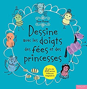 """Afficher """"Dessine avec les doigts des fées et des princesses"""""""