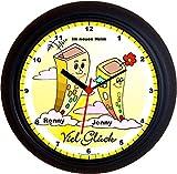 Geschenkidee  - Lucky Clocks HEIM PAAR UMZUG EINZUG Wanduhren für jeden Anlass mit jeder Beschriftung und jedem Vornamen Namen erhältlich