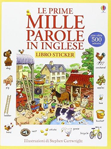 Le prime mille parole in inglese. Con adesivi