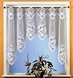 Formschönes Fensterbild mit handgebogtem Abschluß und Stangendurchzug