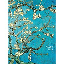 Van Gogh: Almond Blossom – Mandelblüte 2018: Original Flame Tree Publishing-Pocket Diary [Taschenkalender]