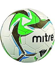 Mitre nébuleuse Futsal Ballon de match de football–blanc/noir/vert, Taille 3