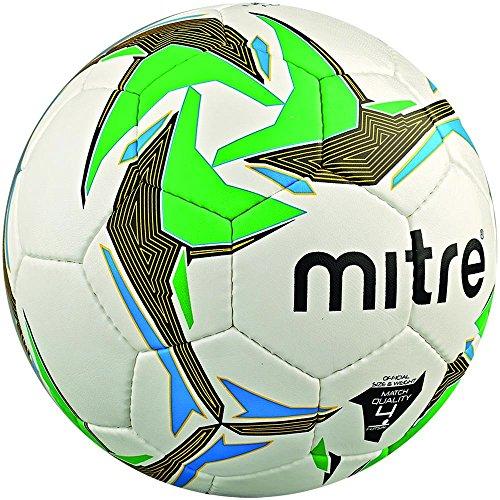 Mitre Unisex s Nebula Futsal Indoor Match Football  White Black Green  Size 3