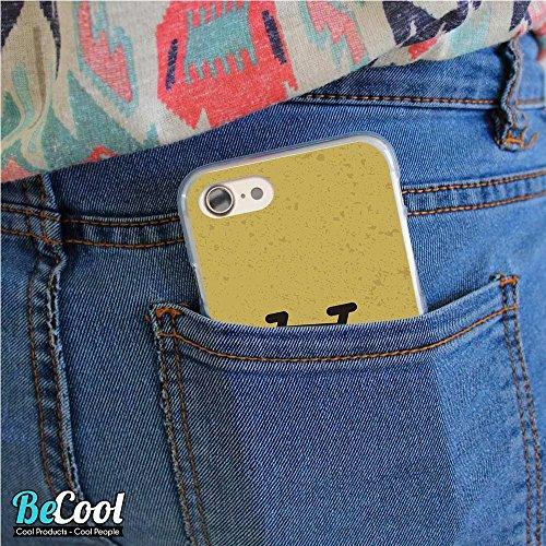 BeCool®- Coque Etui Housse en GEL Flex Silicone TPU Iphone 8, Carcasse TPU fabriquée avec la meilleure Silicone, protège et s'adapte a la perfection a ton Smartphone et avec notre design exclusif. Exp L1524