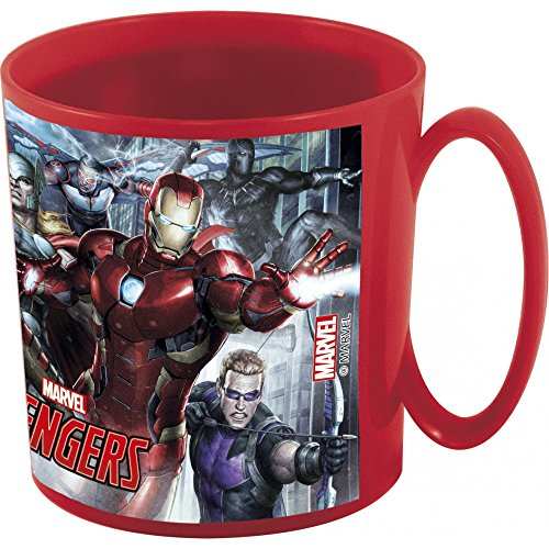 Theonoi Tasse en Plastique 350 ML au Choix : Cars – PawPatrol – Avengers – Blaze/gobelet en Plastique sans BPA – Cadeau pour garçon Avengers