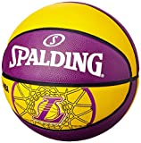Spalding Basketball Team L.A. Lakers - Pelota de Baloncesto, Color Multicolor, Talla 3