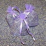 6 X Lavendelsäckchen prall gefüllt mit echtem Lavendel aus der Provence Gesamtfüllgewicht ca. 50 Gramm (2361)
