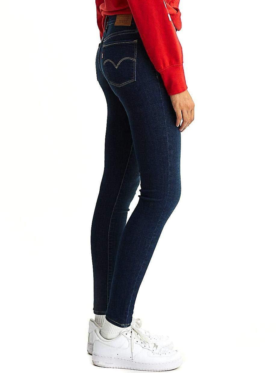 Levi's 710 Super Skinny Novelty Indigo T2 Pantalones Mujer Azul
