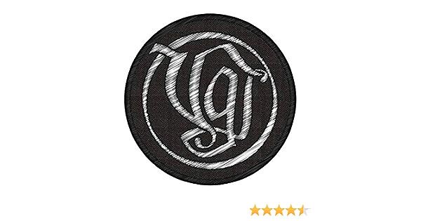 M M Versengold Vg Logo Circular Patch Aufnäher Bekleidung