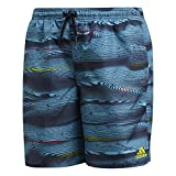 adidas Jungen Parley M Length Badehose, Legend Ink/Core Blue, 176