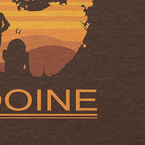 Texlab – Welcome To Tatooine – sacchetto di stoffa Marrone