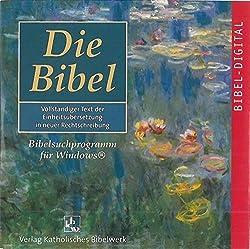 Die Bibel. Einheitsübersetzung. Gesamtausgabe. Cd-rom Für Windows 9598ment 4.02000xp