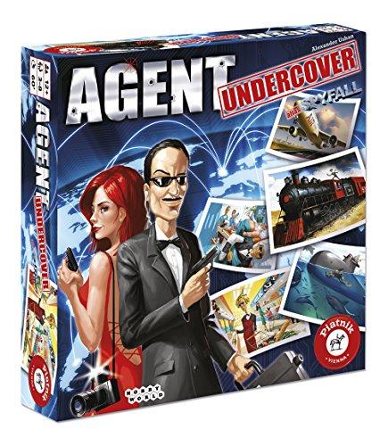 Piatnik 6355 - Agent Undercover, Partyspiele Spy Fall