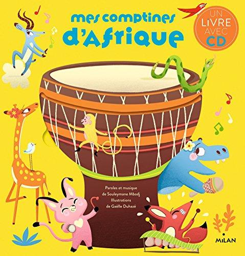 Mes comptines d'Afrique + CD NE (Albums-CD)
