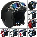 Best Crash Helmets - Leopard LEO-604 Open Face Scooter Motorcycle Motorbike Crash Review