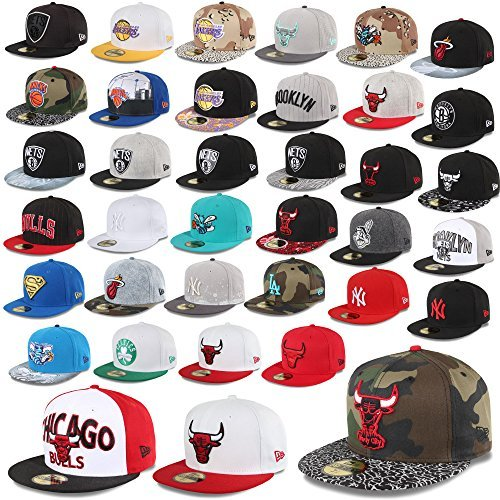 NEW ERA Casquette 59fifty Casquette ajustée new york yankees Chicago Bulls HORNETS Superman Nets NBA MLB etc.
