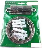 Rankhilfe Seilspanntechnik 10m (Auswahl 10m 20m 30m 40m) Edelstahl hochwertig und flexibel , iapyx® (1)