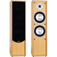 auna Linie-300-BH - Standlautsprecher, Standboxen, Lautsprecher-Boxen, HiFi…