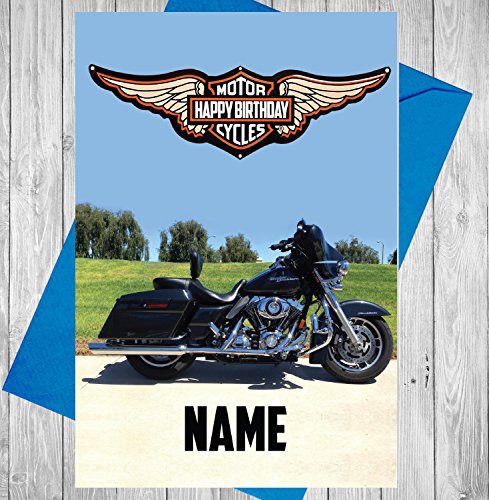 harley-davidson-motorbike-personalised-full-colour-birthday-card-any-name-and-age-printed-on-the-fro