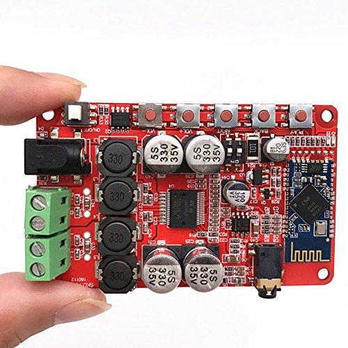 Coomir TDA7492P Aux 50W * 2 Wireless Bluetooth 4.0 Audio Receiver Digital Verstärker Board (Receiver Digital Wireless)