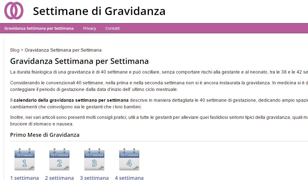 Calendario Settimane Gravidanza.Settimane Gravidanza Amazon It Appstore Per Android