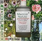 500ml Dekubitus - Pflegeöl (Anti-Dekubitus-Hautöl) - zur unterstützenden Vorbeugung von Druckstellen und leichten Wunden durch Wundliegen und Bettlägerigkeit, Hautpflege in der Altenpflege und Krankenpflege. Naturprodukt.
