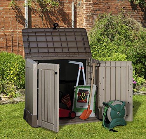 Keter Grand coffre de rangement pour le jardin en pvc CARACAS 845 ...