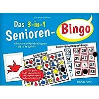 Das-3-in-1-Senioren-Bingo-Fr-kleine-und-groe-Gruppen-bis-zu-16-Spieler-Extra-groe-Motiv-Zahlenkarten-und-Bingovorlagen-sehr-gut-erkennbar