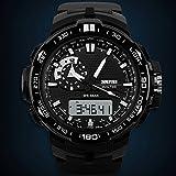 Digitale militare orologi sportivi impermeabile Movimento al quarzo uomini SKMEI 1081