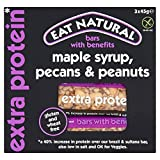 Eat Natural Gluten Free Maple Syrup, Pecans, Peanuts Bars 3 x 45g