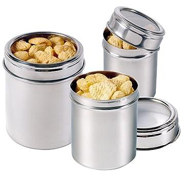 contacto dose mit sichtdeckel, vorratsdose, vorratsbehälter, 0,5 l ... - Vorratsbehälter Küche