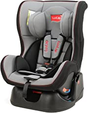 Luvlap Baby Convertible Sports Car Seat, Grey/Black