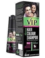 VIP Hair Shampoo (5 in 1) - Head, Mustache, Beard, Chest & Hands, 180 ml, Black