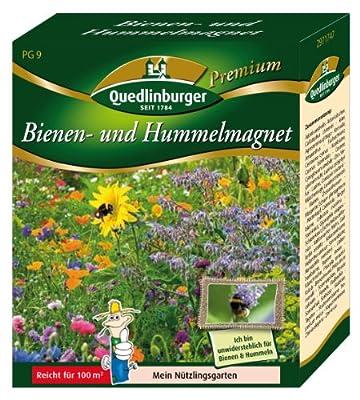 Quedlinburger Bienen- und Hummelmagnet von Quedlinburger - Du und dein Garten
