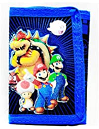 Trifold Wallet - Nintendo - Super Mario Brothers and Friends New SD26780 by Super Mario Brothers