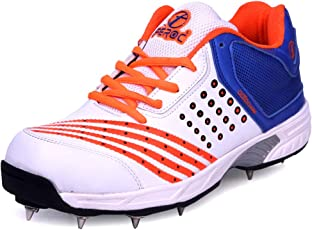 Feroc ADF Orange Cricket Spikes Shoes (Free Delivery)