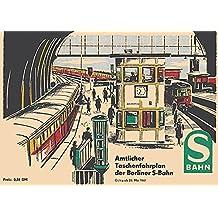 Berliner S-Bahn - Amtlicher Taschenfahrplan 1961: Nachdruck des letzten Fahrplanheftes der Reichsbahn vor dem Mauerbau. Incl. Berliner S-Bahn Liniennetz 1961