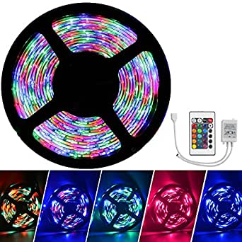 Waterproof led strip lights only led tape without plug waterproof led strip lights only led tape without plug inextstation 5m rgb smd color aloadofball Choice Image