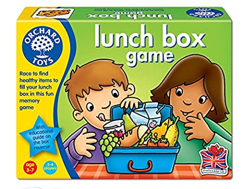 Orchard Toys - Jeu Lunchbox - Langue: anglais