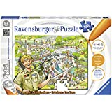 """Ravensburger 00524 - tiptoi Puzzeln, Entdecken, Erleben: """"Im Zoo"""""""