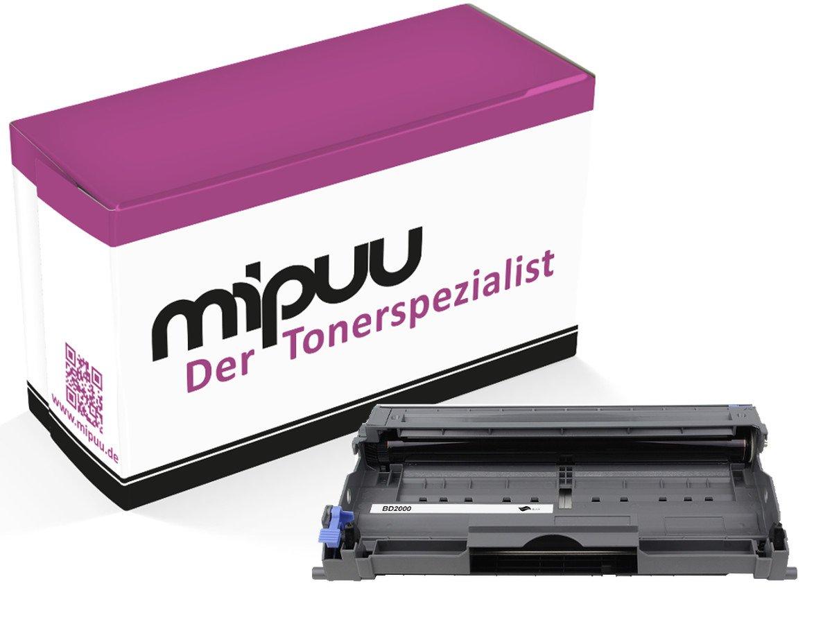 mipuu Toner Compatibile con Stampanti Brother TN 2000 (07) Trommel