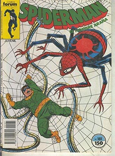 Spiderman volumen 1 numero 181