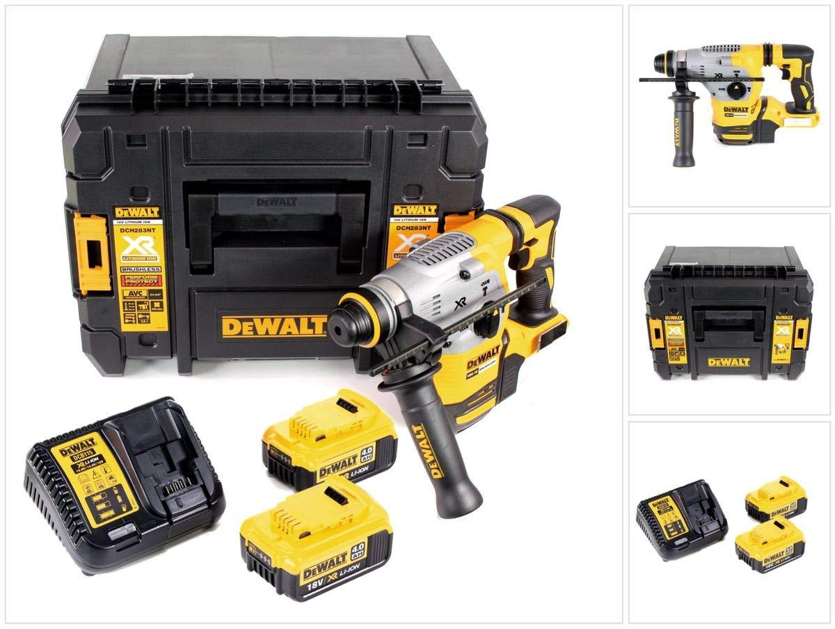 DeWalt DCH 283 M2 Akku Kombihammer 18V 2,8J SDS plus Brushless+ 2x Akku 4,0Ah + Ladegerät + TSTAK