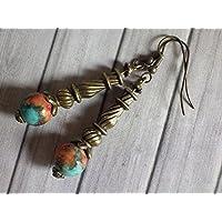 orecchini pendenti in perle di g
