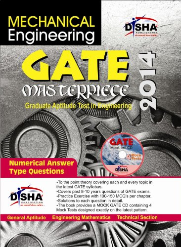 GATE Masterpiece Mechanical Engineering Exam 2014 (With 4 Mock Test CD) (Old Edition) (Old Edition)