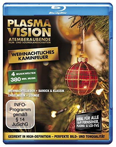 Plasma Vision - Weihnachtliches Kaminfeuer [Blu-ray]