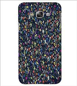 PrintDhaba Graffiti D-1262 Back Case Cover for SAMSUNG GALAXY E7 (Multi-Coloured)