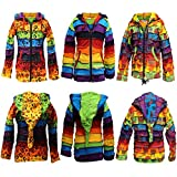 Search : SHOPOHOLIC FASHION children Pixie colorful Hippie Striped Hoodie Hippy Boho Kids Sweater Jacket