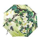 Pittura A Olio 3 Pieghevole Ombrellone Protezione Solare Anti-UV Ombrello Per Le Donne,PhotoColor-Freesize